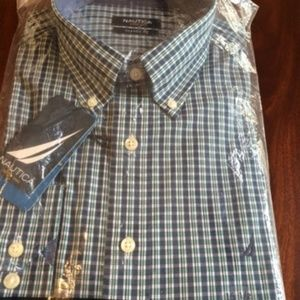 Nautica Button Down Classic Fit Shirt - NEW